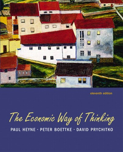 9780131543690: The Economic Way of Thinking