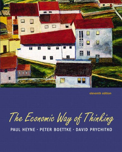 9780131543690: Economic Way of Thinking, The (11th Edition)