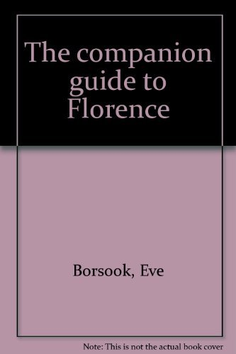 9780131544765: The companion guide to Florence