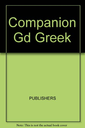 9780131545007: Companion Guide to the Greek Islands
