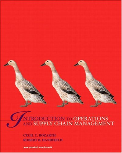 9780131545861: Introduction To Operations And Supply Chain Managment