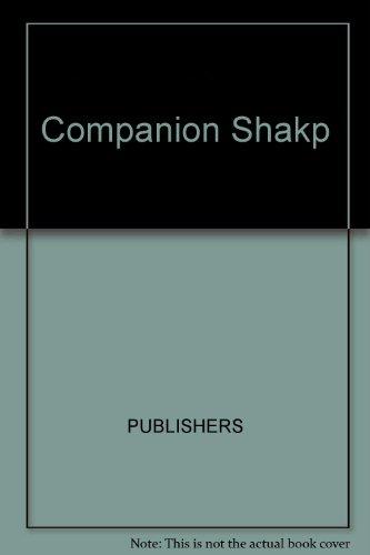 9780131546172: Companion Shakp