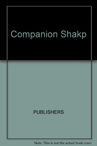 9780131546172: Companion Guide to the Shakespeare Country