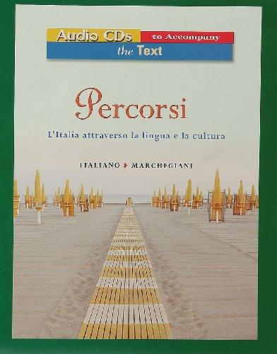 9780131546509: Audio for Percorsi: L'Italia Attraverso La Lingua E La Cultura: Audio to Accompany Text