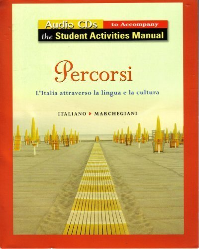 9780131546516: Audio for Student Activity Manual for Percorsi: L'Italia Attraverso La Lingua E La Cultura (English and Italian Edition)