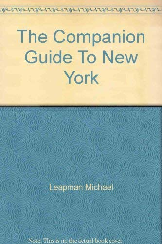 9780131546820: The companion guide to New York