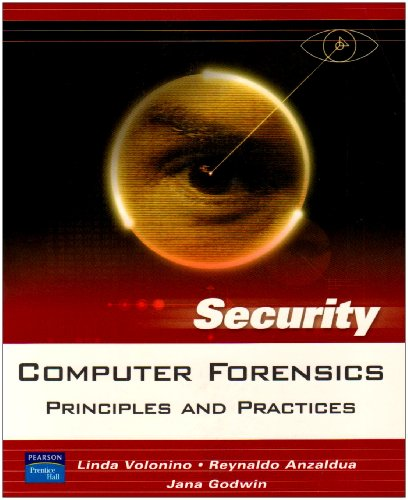 9780131547278: Computer Forensics: Principles and Practices