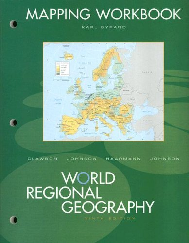 9780131547759: Mapping Workbook for World Regional Geography
