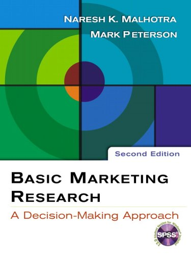 9780131548657: Basic Marketing Research: With SPSS 13.0