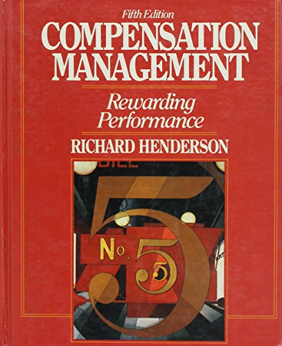9780131549234: Compensation Management: Rewarding Performance