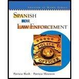 9780131549562: Spanish Law Enforcmt&wrkbk &Stu Aud CD Pkg