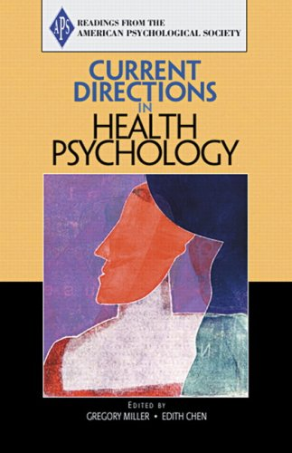 9780131551121: Current Directions in Health Psychology: Value-Pak Version (American Psychological Society)