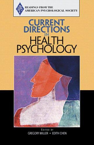 Current Directions in Health Psychology: Association for Psychological