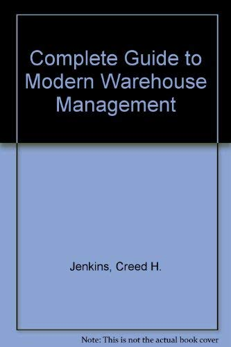 9780131554092: Complete Guide to Modern Warehouse Management