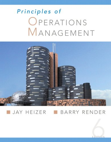 9780131554450: Principles Of Operations Management and Student CD
