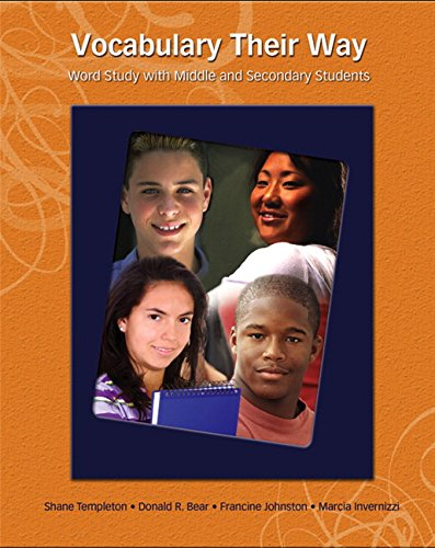 9780131555358: Vocabulary Their Way: Word Study with Middle and Secondary Students (Words Their Way)