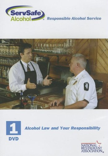 9780131557246: DVD 1: Alcohol Law and Your Responsibility for ServSafe Alcohol: Fundamentals of Responsible Alcohol Service with Answer Sheet (2nd Edition)