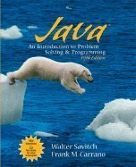 9780131557741: Java: An Introduction to Problem Solving and Programming (Cisco Networking Academy Progr)