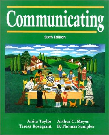 9780131558137: Communicating