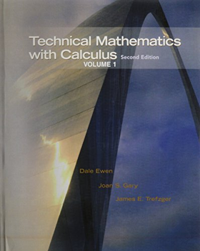 9780131559509: Technical Mathematics with Calculus with Student Solutions Manual (2nd Edition)