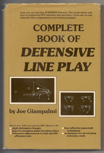 9780131561588: Title: Complete Book of Defensive Line Play