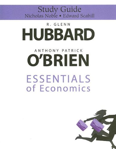 9780131562721: Study Guide for Essentials of Economics for