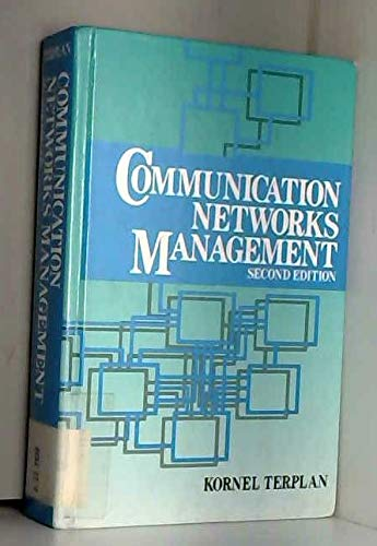 9780131564497: Communication Networks Management
