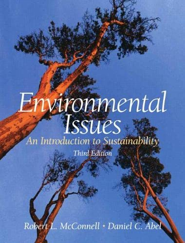 9780131566507: Environmental Issues: An Introduction to Sustainability (3rd Edition)