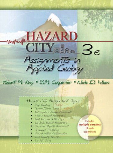 9780131566828: Hazard City: Assignments in Applied Geology (3rd Edition)
