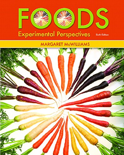 9780131568532: Foods: Experimental Perspectives