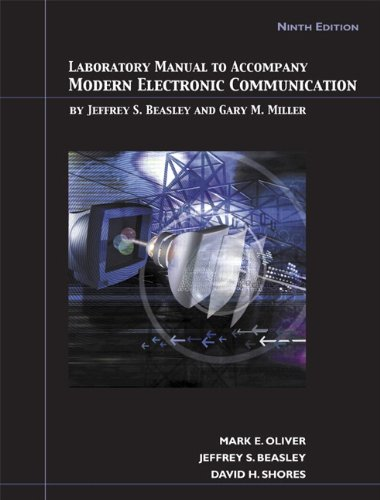 9780131568556: Lab Manual for Modern Electronic Communication