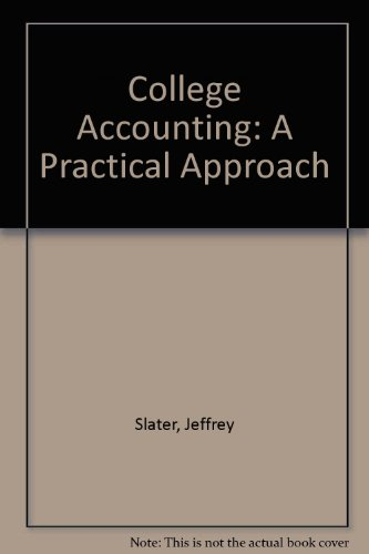 9780131569775: College Accounting: A Practical Approach