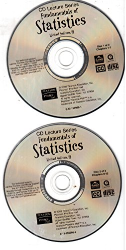 9780131569966: CD Lecture Series for Fundamentals of Statistics, 2nd Edition