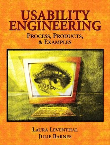 9780131570085: Usability Engineering: Process, Products & Examples