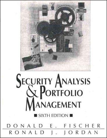 9780131572560: Security Analysis & Portfolio Management (Security Analysis and Portfolio Management)