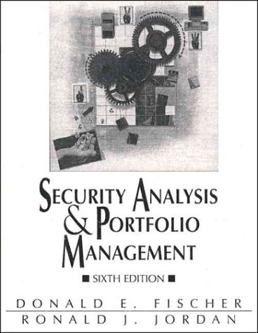 9780131572560: Security Analysis and Portfolio Management