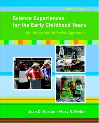 9780131573093: Science Experiences for the Early Childhood Years: An Integrated Affective Approach