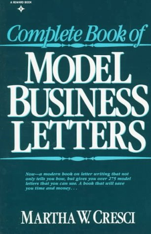 9780131574120: Complete Book of Model Business Letters