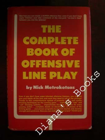 9780131575455: The complete book of offensive line play