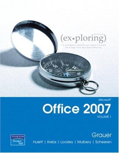 9780131575646: Exploring Microsoft Office 2007 Volume 1