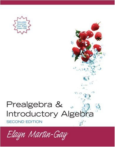 9780131577053: Prealgebra & Introductory Algebra (2nd Edition)