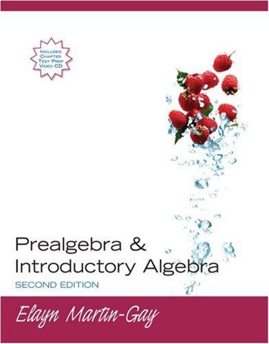 9780131577053: Prealgebra & Introductory Algebra (2nd Edition)