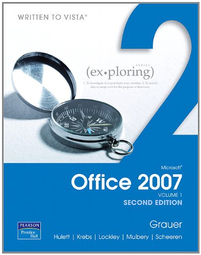9780131577299: Exploring Microsoft Office 2007, Volume 1 (2nd Edition)