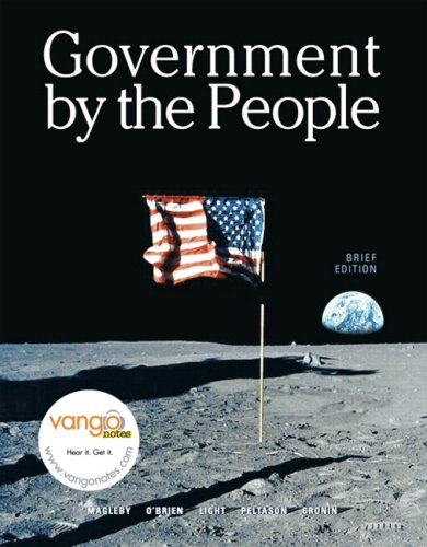 9780131578173: Government by the People, Brief Version (7th Edition)