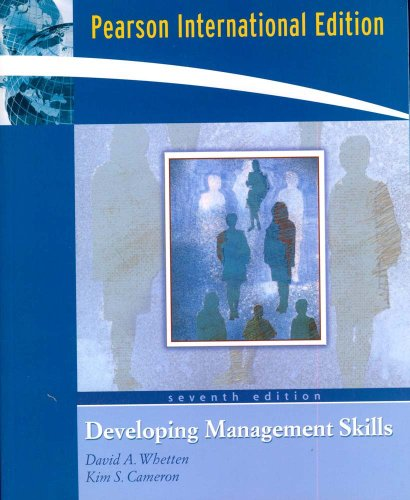 9780131578517: Developing Management Skills (International Edition) Edition: Seventh