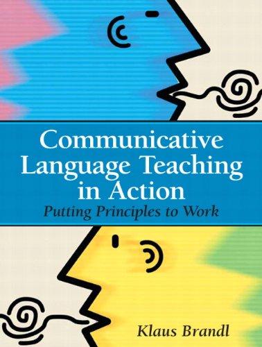 9780131579064: Communicative Language Teaching in Action: Putting Principles to Work