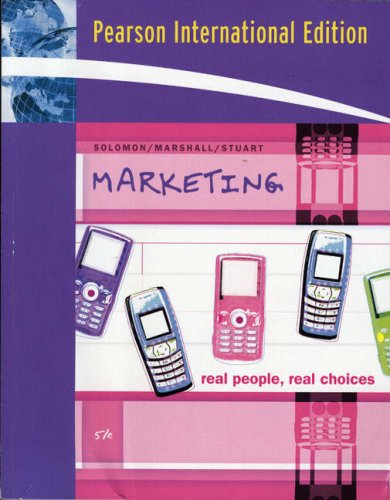 9780131579101: Marketing: Real People, Real Choices (5th International Edition)