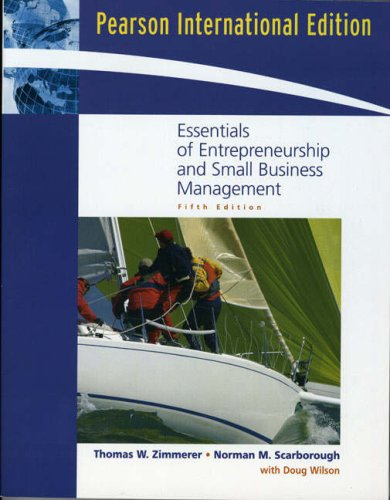 9780131579439: Essentials of Entrepreneurship and Small Business Management