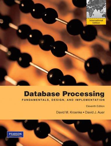 9780131579453: Database Processing: International Edition
