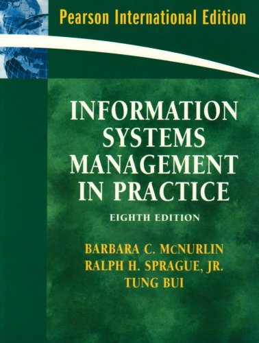 9780131579514: Information Systems Management: International Edition